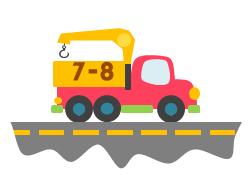 6-Wheel Truck with Crane