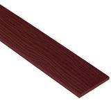 ไม้ฝาเฌอร่า ลายสัก รุ่นมาตรฐาน แดงมะฮอกกานี (241) ขนาด0.8x15x300 ซม. นน. 5.4กก./ผ.