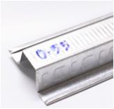 แปเหล็กชุบสังกะสี G ROOF หนา 0.55มม. ยาว 4ม. นน. 1.6 กก./ท่อน
