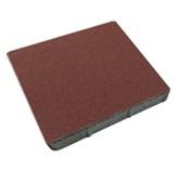 ศิลาเหลี่ยม 50x50x6 ซม. สีแดง 33.30 กก./ก้อน 4 ก้อน/ตรม.
