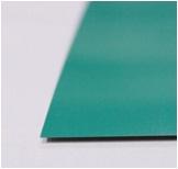 หลังคาเมทัลชีท ตราตรีสตาร์ TRISTAR สีเขียวบางจาก หนา 0.22มม. 760มม. ราคาต่อเมตร