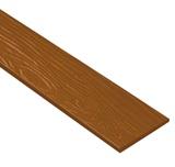 ไม้ฝาเฌอร่า ลายสัก รุ่นมาตรฐาน สีสักทองแท้ (342) ขนาด 0.8x20x400  นน. 9.6กก./ผ.