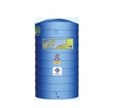 ECO DWT 1500 ถังเก็บน้ำบนดิน POLYETHYLENE ECO JAZZ DWT (PEสีน้ำเงิน)  รับประกัน 12 ปี
