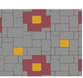 บล็อกปูพื้นลายมาตรฐาน คอบเบิล สโตน Cobble Stone CB32 นน. 130กก./ตร.ม. * รับ รง.ลาดกระบัง *