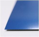 หลังคาเมทัลชีท ตราตรีสตาร์ TRISTAR สีน้ำเงินประกายมุก หนา 0.27มม. 760มม. ราคาต่อเมตร
