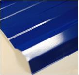 หลังคาเมทัลชีท ตราตรีสตาร์ TRISTAR สีน้ำเงินคราม หนา 0.27มม. 760มม. ราคาต่อเมตร