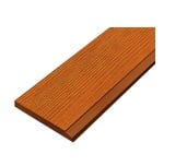 ไม้เชิงชาย สมาร์ทวูด (หน้า 6นิ้ว) 15x400x1.6ซม. สีสักทอง Golden Teak นน. 14.2กก./แผ่น