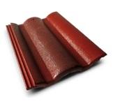 กระเบื้องคอนกรีต สีแดงประกายตะวัน (CT19) ขนาด 33x42ซม. นน.4กก./ผ.