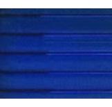 แผ่นโปร่งแสง โพลีคาร์บอเนต Polycarbornate Sheet 1220x2440ซม. หนา6มม. สีน้ำเงิน