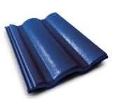 กระเบื้องคอนกรีต สีฟ้ารุ่งนิรันดร์ (CT47) ขนาด 33x42ซม. นน.4กก./ผ.