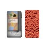 ปูนซีเมนต์สำเร็จรูป เสือ เดคอร์ Color Render (ฉาบสี) สีแดง RE01 1MM WORM SURFACE