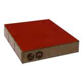 ศิลาเหลี่ยม คูลพลัส สีส้ม Jazzy Orange 30x30x6ซม. 10.35 กก./ก้อน 11.11 ก้อน/ตรม.