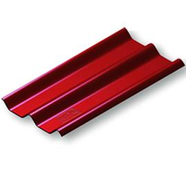 กระเบื้อง ลอนคู่ตราช้าง ขนาด 50x150ซม. หนา 6.0มม. สีแดง นน. 9.0กก.