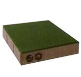 ศิลาเหลี่ยม คูลพลัส สีเขียว Green 30x30x6ซม. 10.35 กก./ก้อน 11.11 ก้อน/ตรม.
