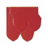 กระเบื้องเอ็กซ์เซลล่า คลาสสิคไทย เกล็ดปลา สีแดงเจิดจรัส นน.4กก./แผ่น