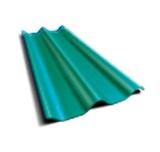 ลอนคู่ ตราเพชร สีเขียวประกายเพชร 50x120x0.5ซม. นน. 6.2กก./แผ่น