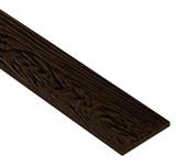 ไม้ฝาเฌอร่า ลายสัก รุ่นมาตรฐาน สีน้ำตาลประดู่ (144) ขนาด 0.8x20x400  นน. 9.6กก./ผ.