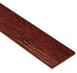 ไม้ฝาเฌอร่า ลายสัก รุ่นมาตรฐาน สีแดงเชอรี่ (145) ขนาด 0.8x15x400  นน. 7.2กก./ผ.