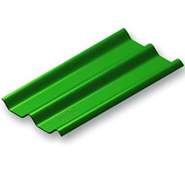 กระเบื้อง ลอนคู่ตราช้าง ขนาด 50x120ซม. หนา 6.0มม. สีเขียว นน.7.2กก.