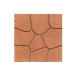 กระเบื้องปูพื้น Stamp pave ลาย Roma สีส้ม 40x40x3.5ซม. นน.13.8กก./ผ. 6.25ผ./ตร.ม.
