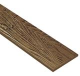 ไม้ฝาเฌอร่า ลายสัก รุ่นมาตรฐาน สีน้ำตาลวอทนัท (146) ขนาด 0.8x20x400  นน. 9.6กก./ผ.