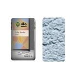 ปูนซีเมนต์สำเร็จรูป เสือ เดคอร์ Color Render (ฉาบสี) สีน้ำเงิน BL01 1MM WORM SURFACE