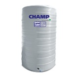 CAP 1000 ถังน้ำบนดิน  CHAMP ปลอดตะไคร่น้ำ  วัสดุใหม่ล่าสุด S950 รับประกัน 15 ปี